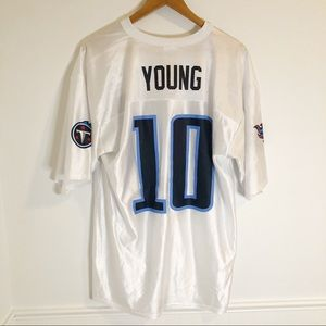 NEW Tennessee Titans NFL Vince Young #10 Jersey L